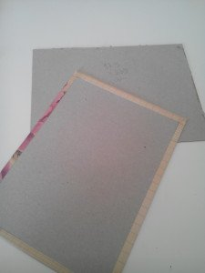 cartones forrados cuaderno Natalia