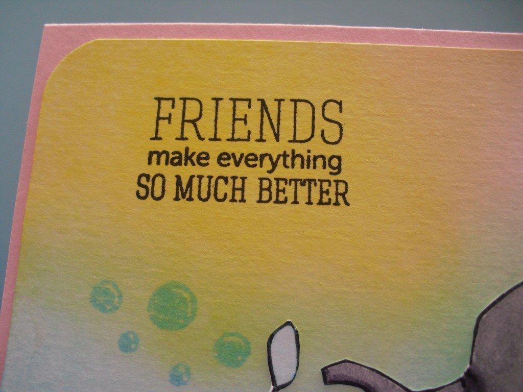 detalle frase tarjeta amistad