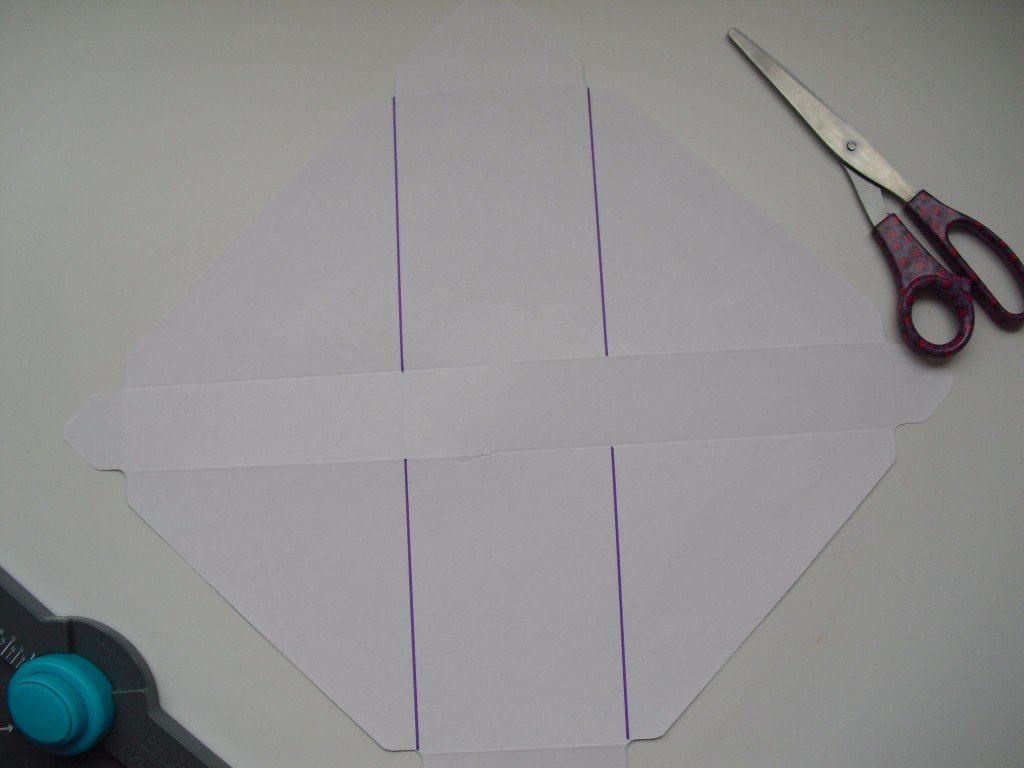 paso 8 cajita envelope