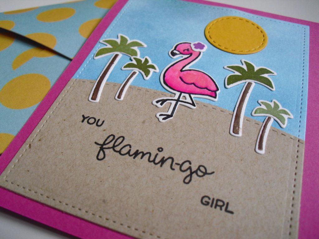 ultima tarjeta you flamingo girl
