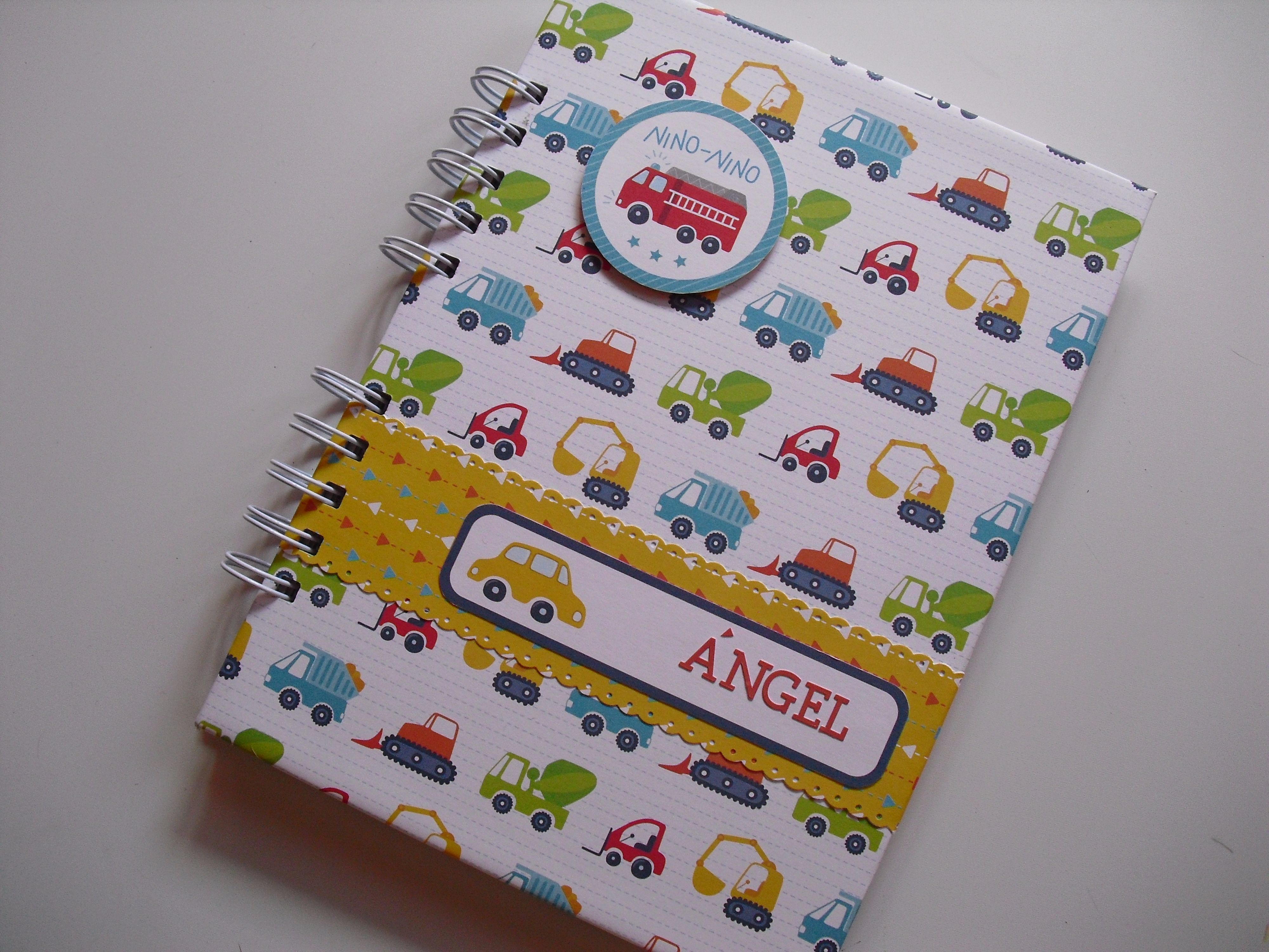 Cuaderno para Ángel sobre ruedas