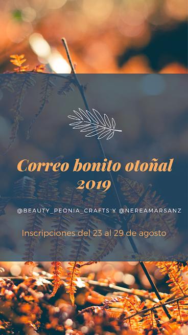Correo bonito otoñal 2019