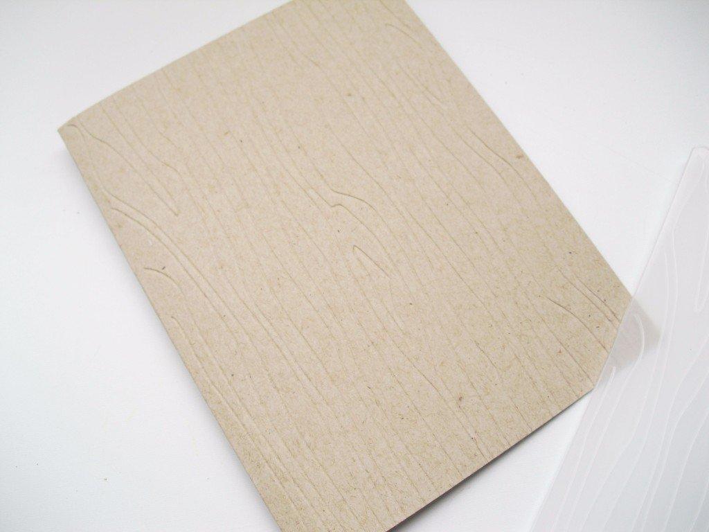 cardstock tarjeta dia del padre