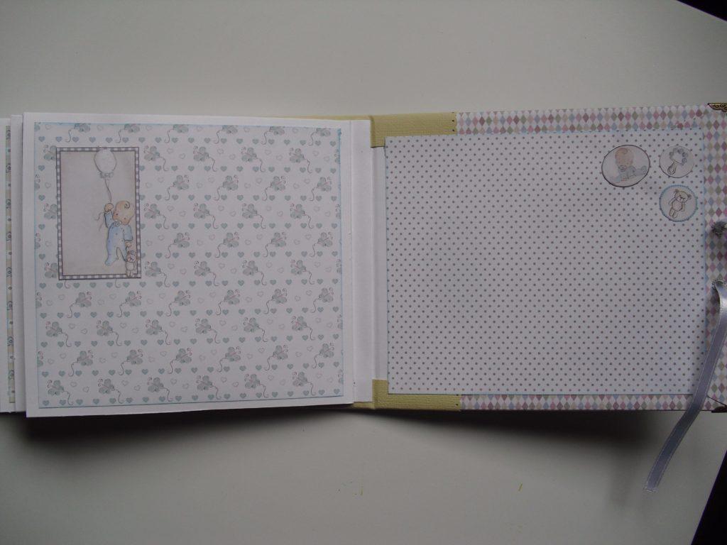 pagina 6-7 album bebe sergio