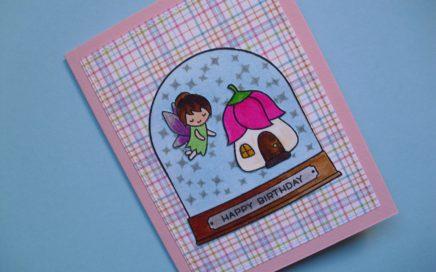 Tarjeta de cumpleaños Fairy Friends