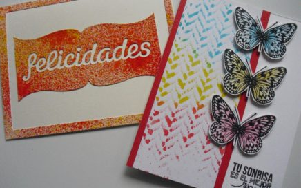 Intercambio de paneles con Isa de Happy cardmaking